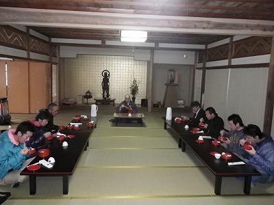 立山寺 昼食