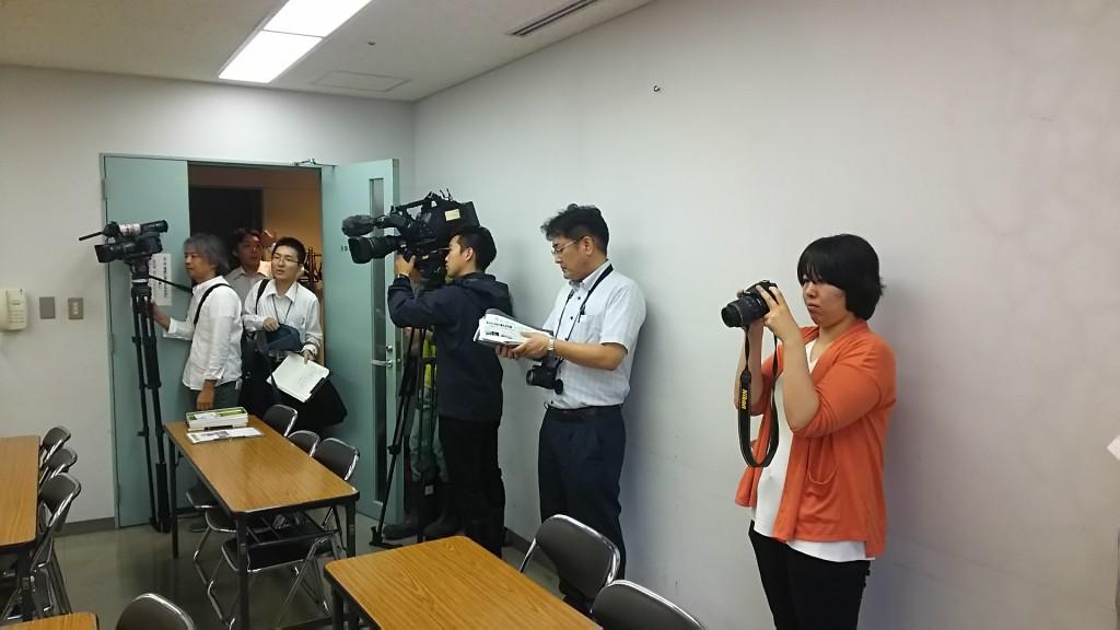 県内マスコミ各社から取材を受けました