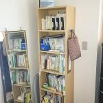 固定前 寝室書棚