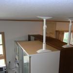 食器棚3台 固定完了