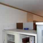 食器棚固定完了