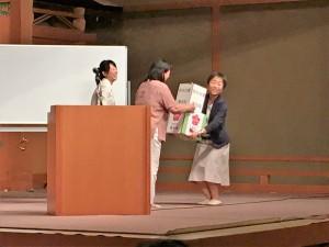 熊本地震募金贈呈
