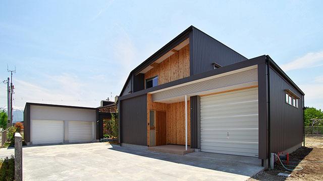 多角形の家