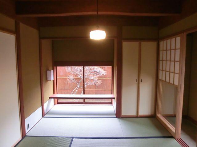 中太閤山の家(内観)傾き補正2