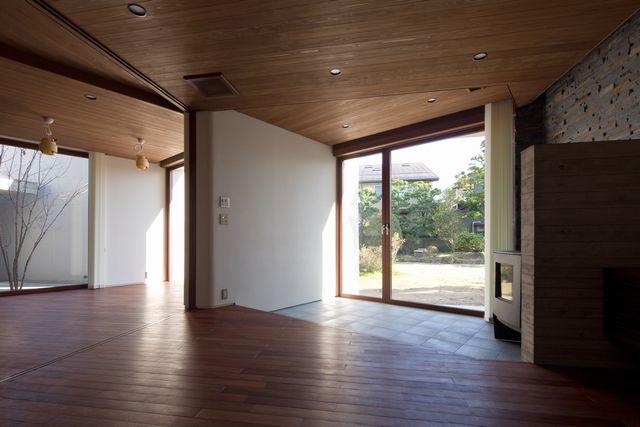 木津の家(内観)