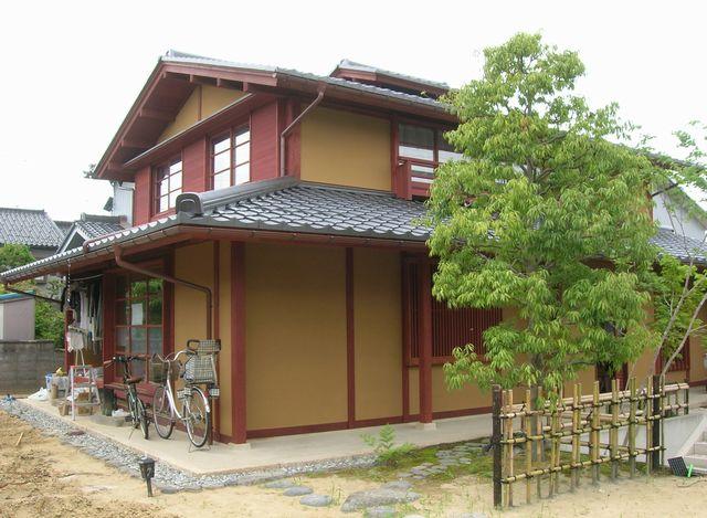 中太閤山の家(外観 トリミング後)