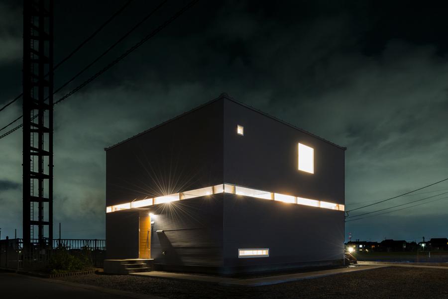 スタジオの家(外観)