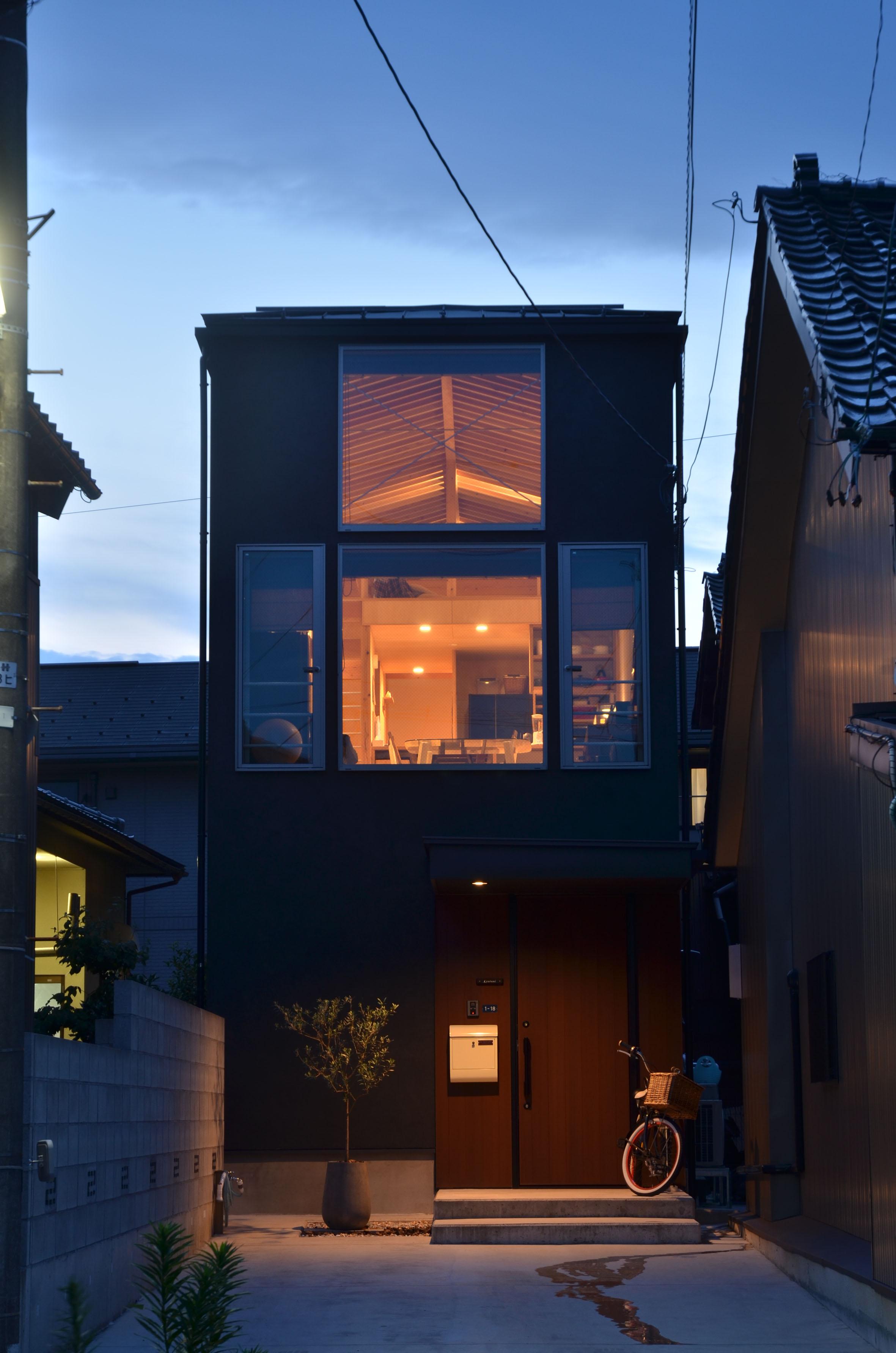 中川上町の家_外観