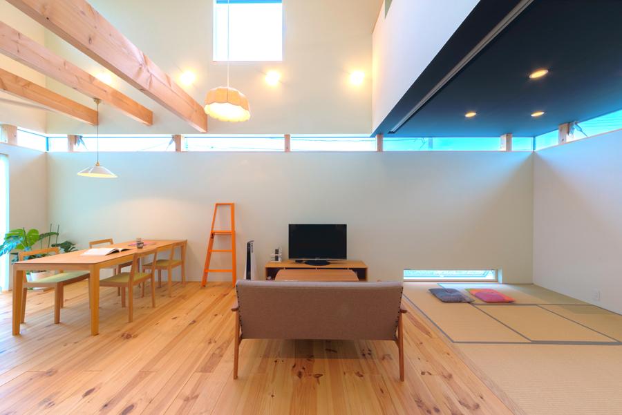 スタジオの家(内観)